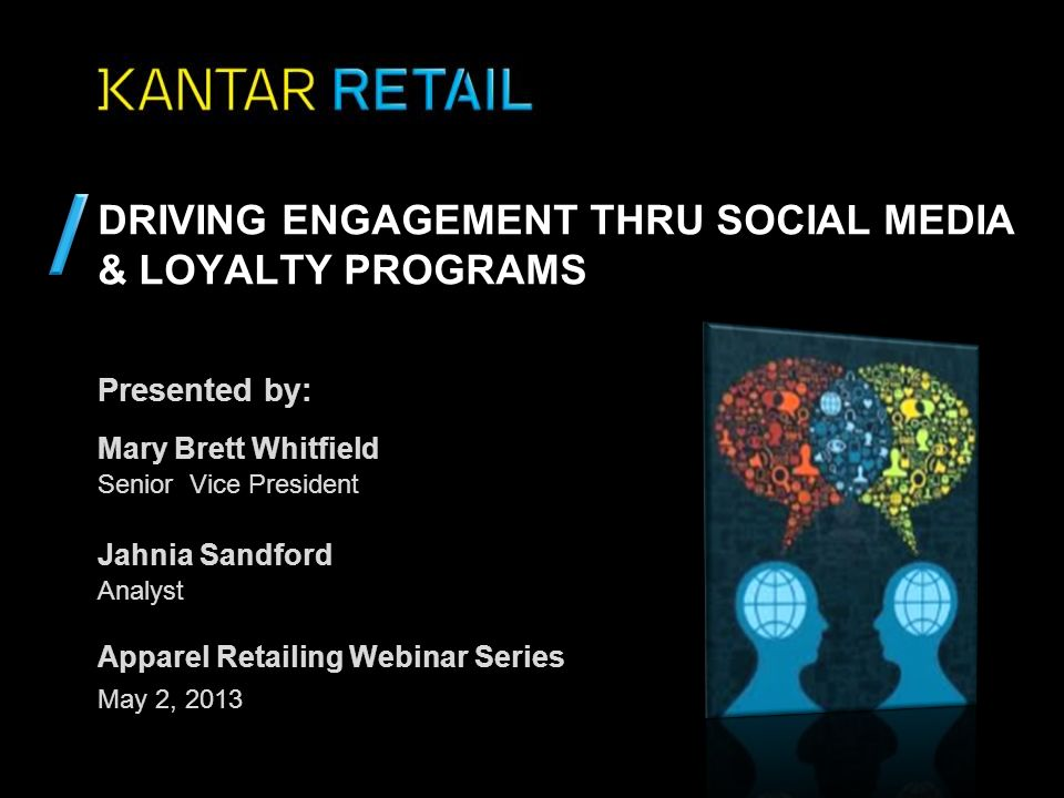Driving Engagement thru Social Media & Loyalty Programs