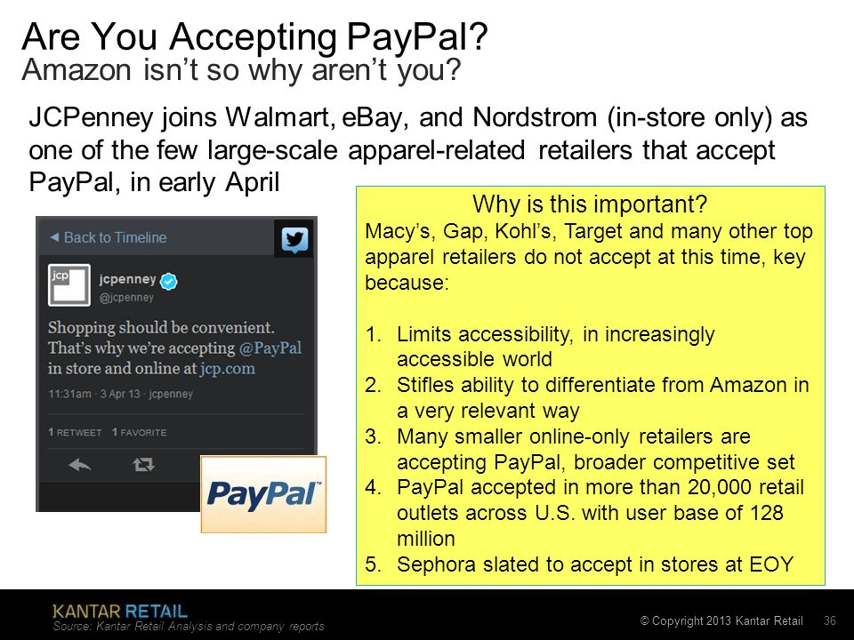 Are You Accepting PayPal