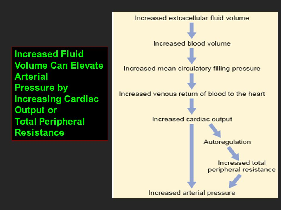 Cardiovascular Physiology Blood Pressure And Its