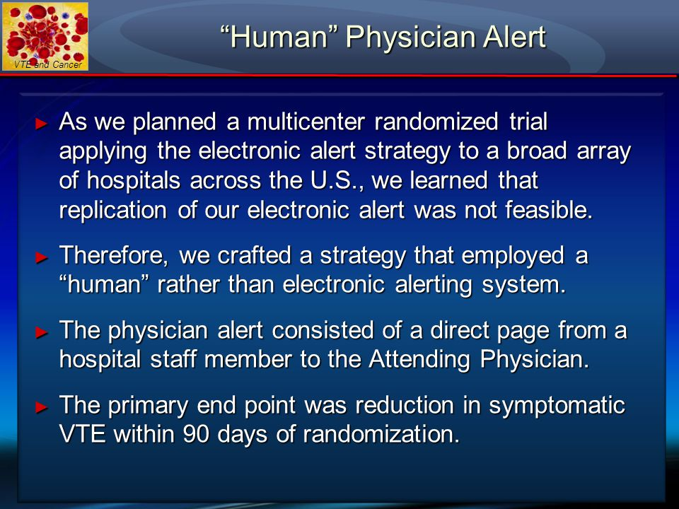 Human Physician Alert