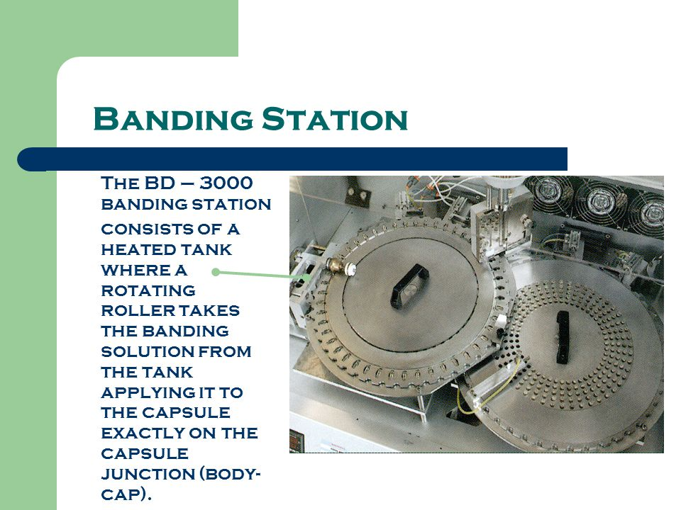 Banding Station The BD – 3000 banding station