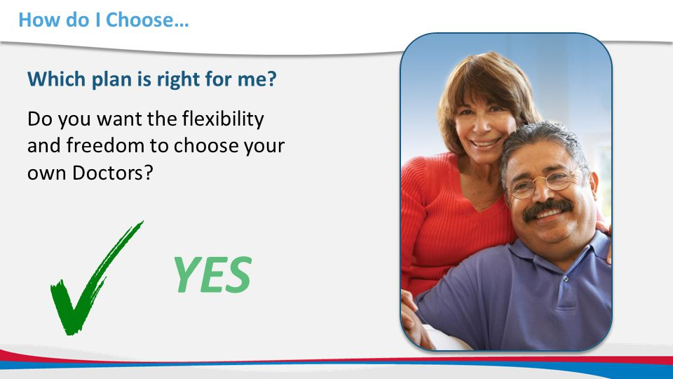 YES How do I Choose… Which plan is right for me