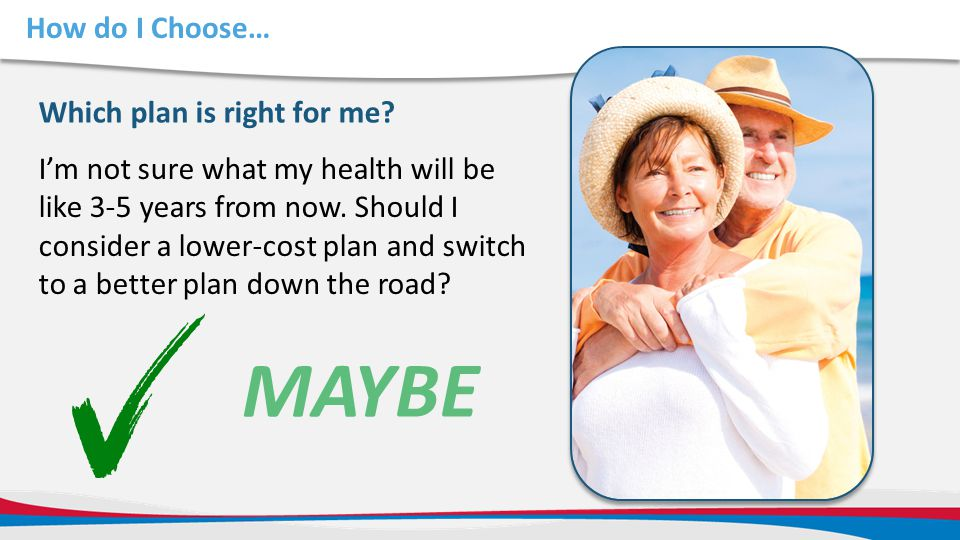 MAYBE How do I Choose… Which plan is right for me