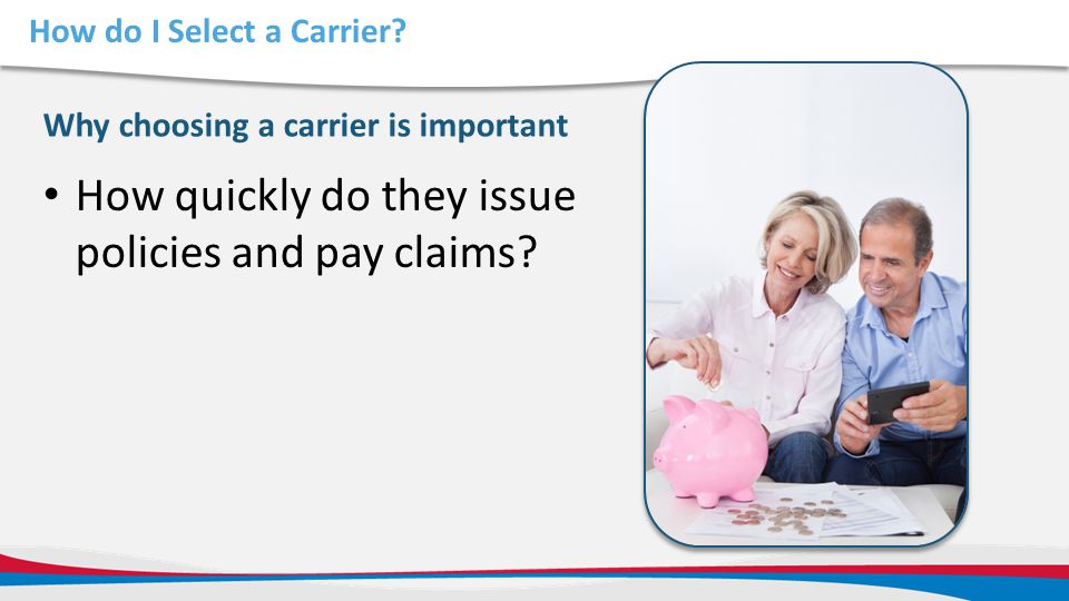 How do I Select a Carrier