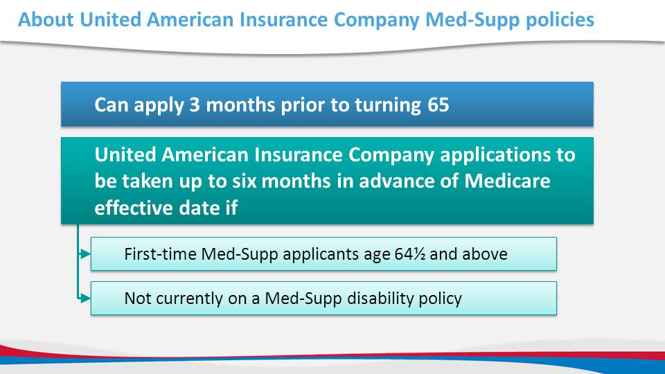 About United American Insurance Company Med-Supp policies