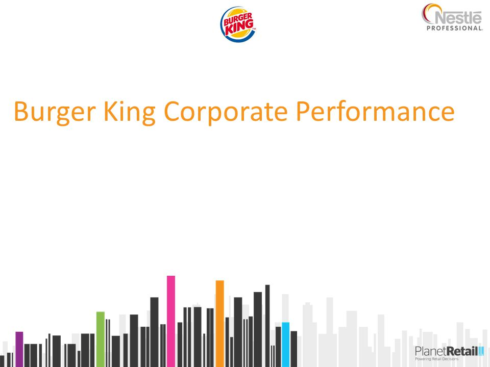 Burger King Corporate Performance