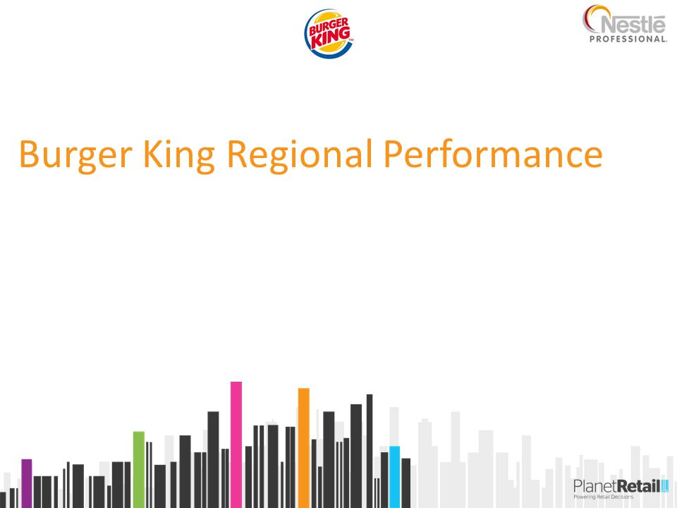 Burger King Regional Performance