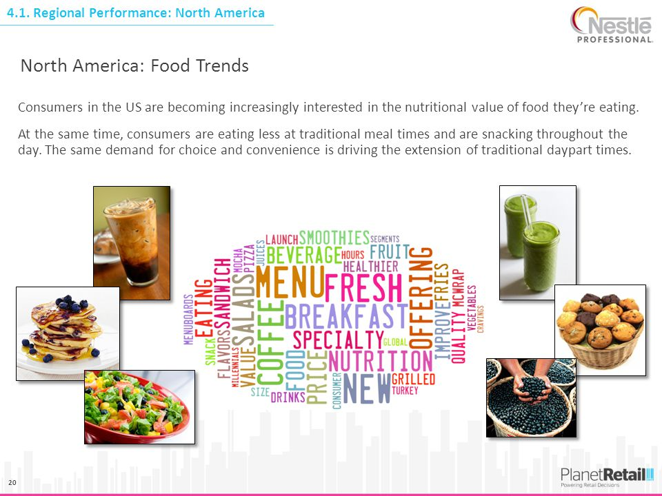 North America: Food Trends