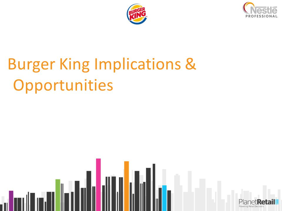 Burger King Implications & Opportunities
