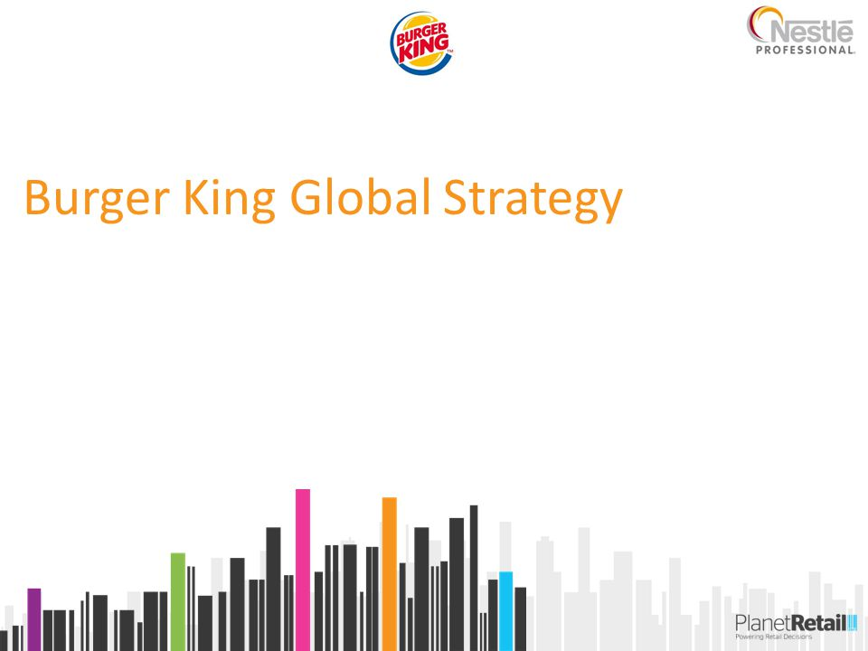 Burger King Global Strategy