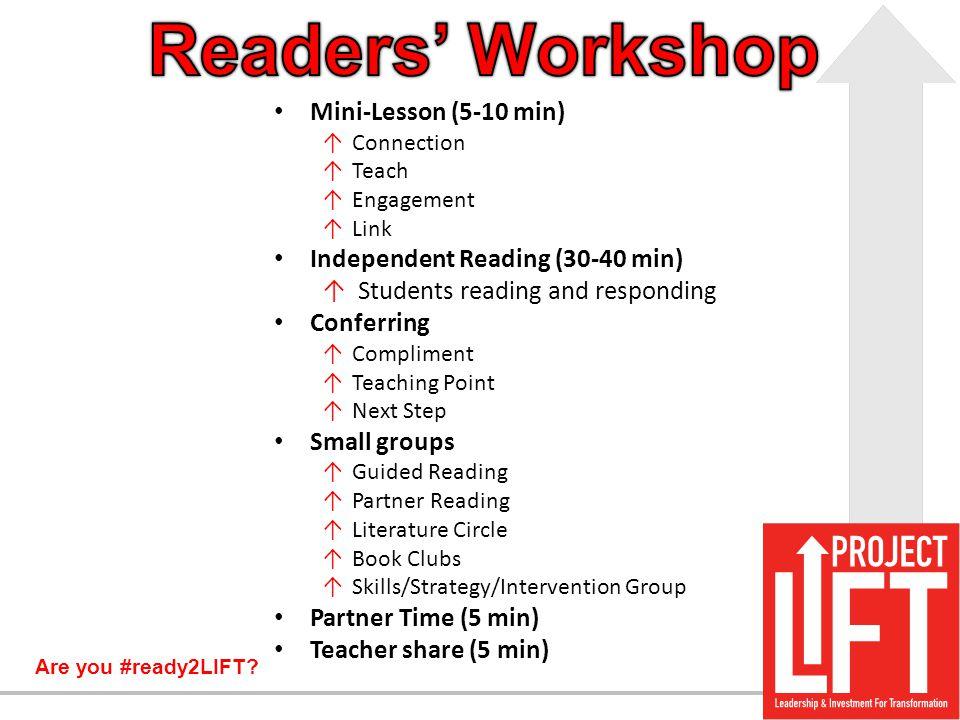 Readers' Workshop Mini-Lesson (5-10 min)