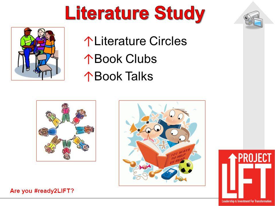 Literature Study Literature Circles Book Clubs Book Talks