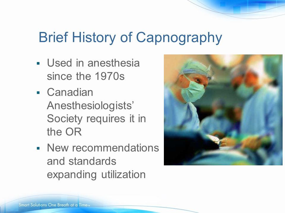 Brief History of Capnography