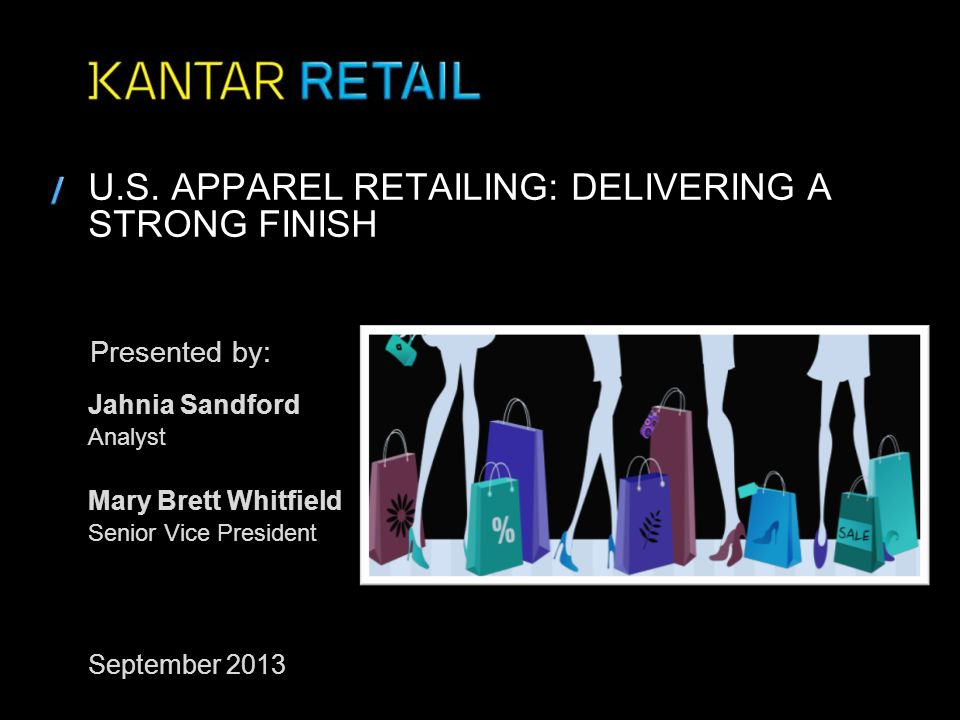 U.S. Apparel Retailing: Delivering a strong finish