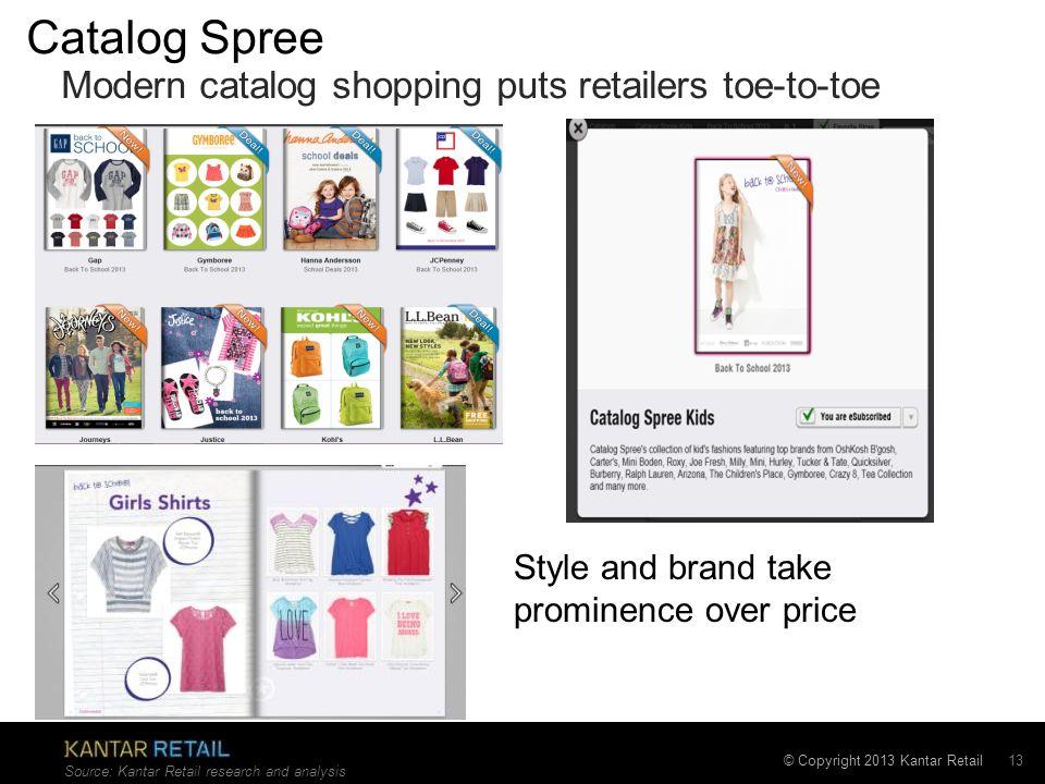 Catalog Spree Modern catalog shopping puts retailers toe-to-toe