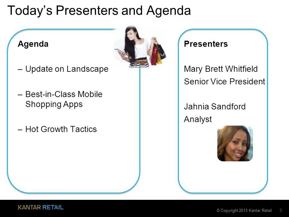 Today's Presenters and Agenda