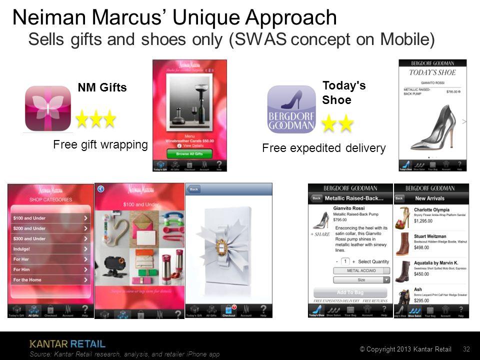 Neiman Marcus' Unique Approach