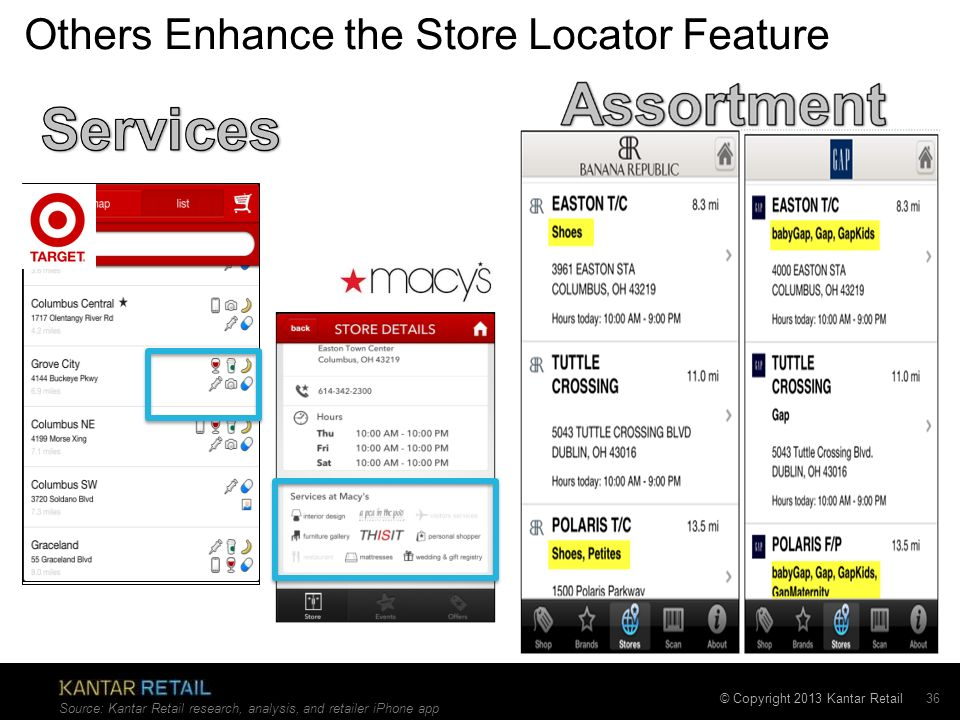 Others Enhance the Store Locator Feature
