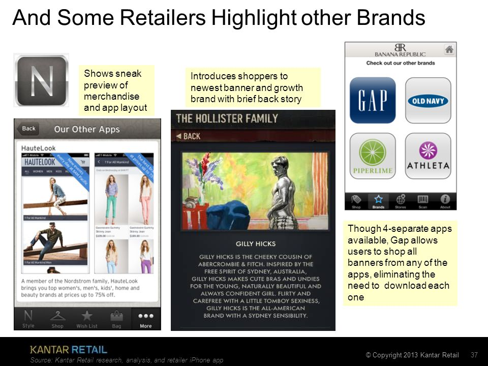 And Some Retailers Highlight other Brands
