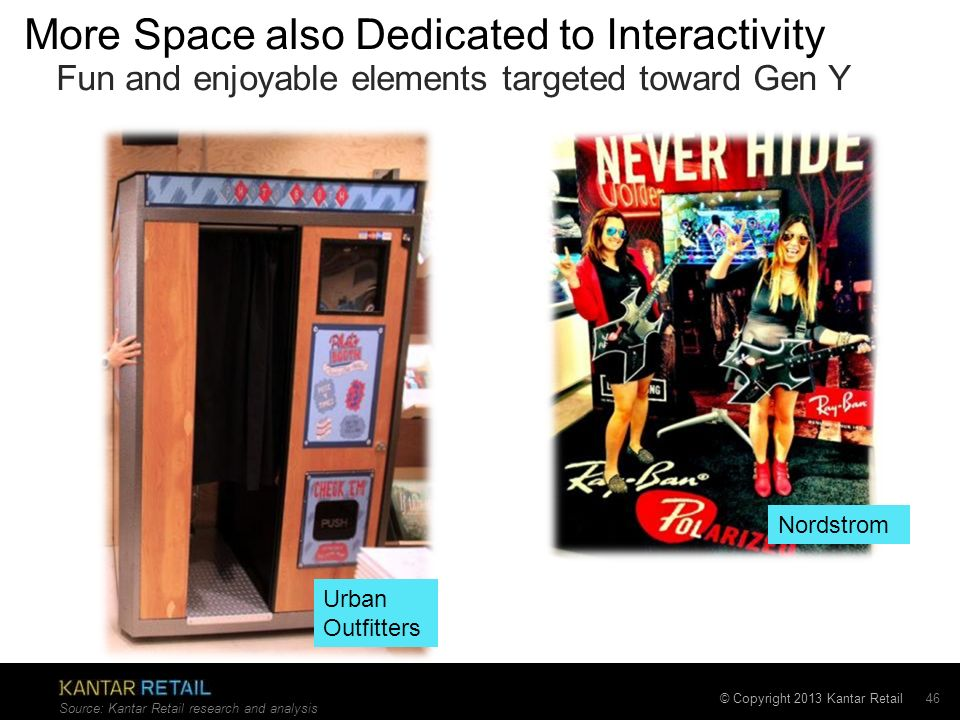 More Space also Dedicated to Interactivity