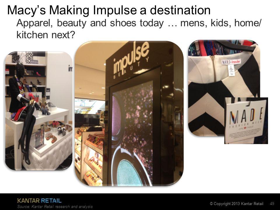 Macy's Making Impulse a destination