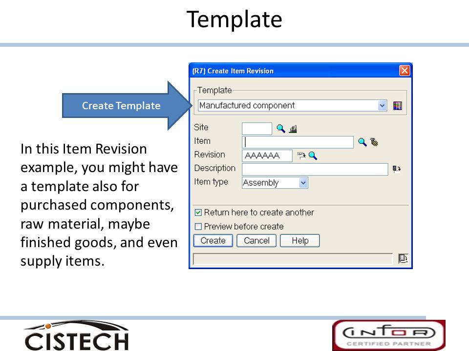 Template Create Template.