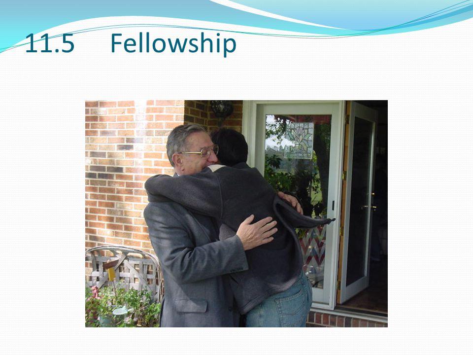 11.5 Fellowship