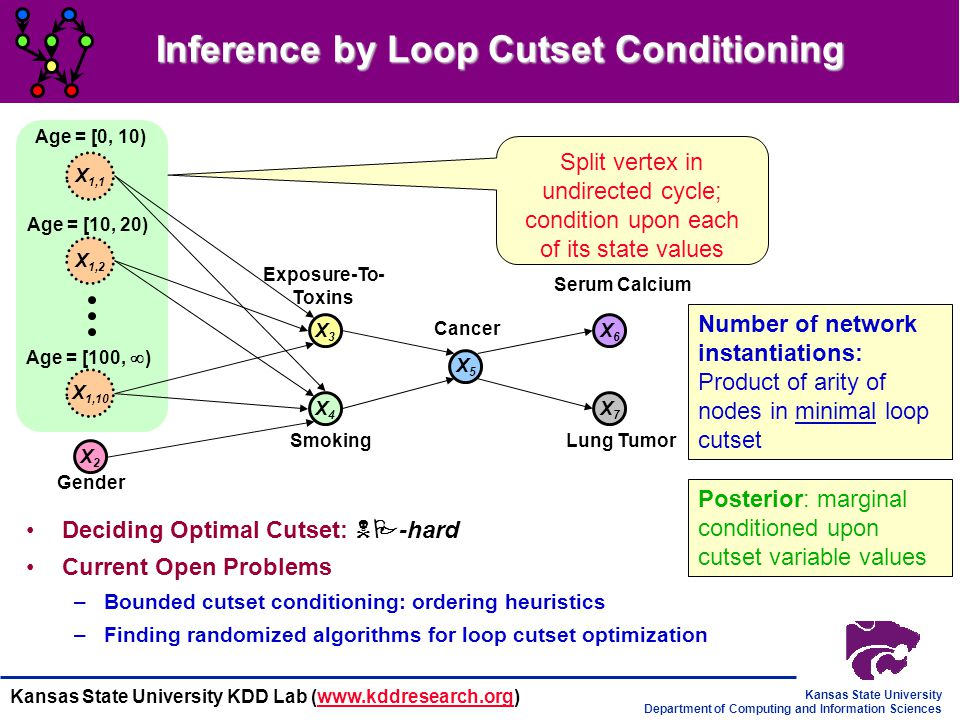 Inference by Loop Cutset Conditioning