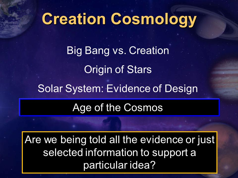 Solar System: Evidence of Design
