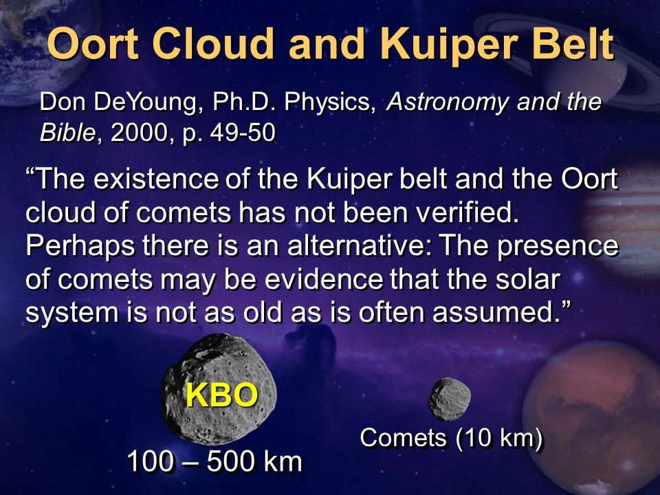 Oort Cloud and Kuiper Belt