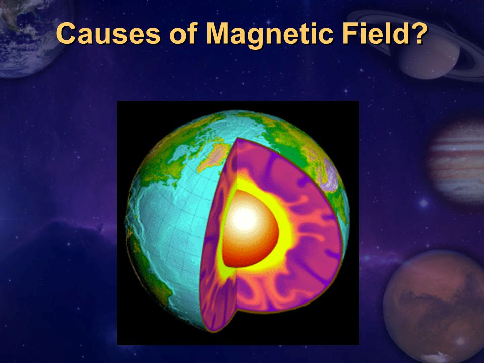 Causes of Magnetic Field