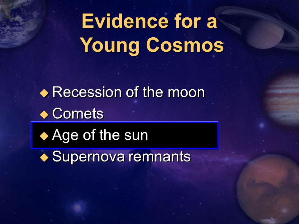 Evidence for a Young Cosmos