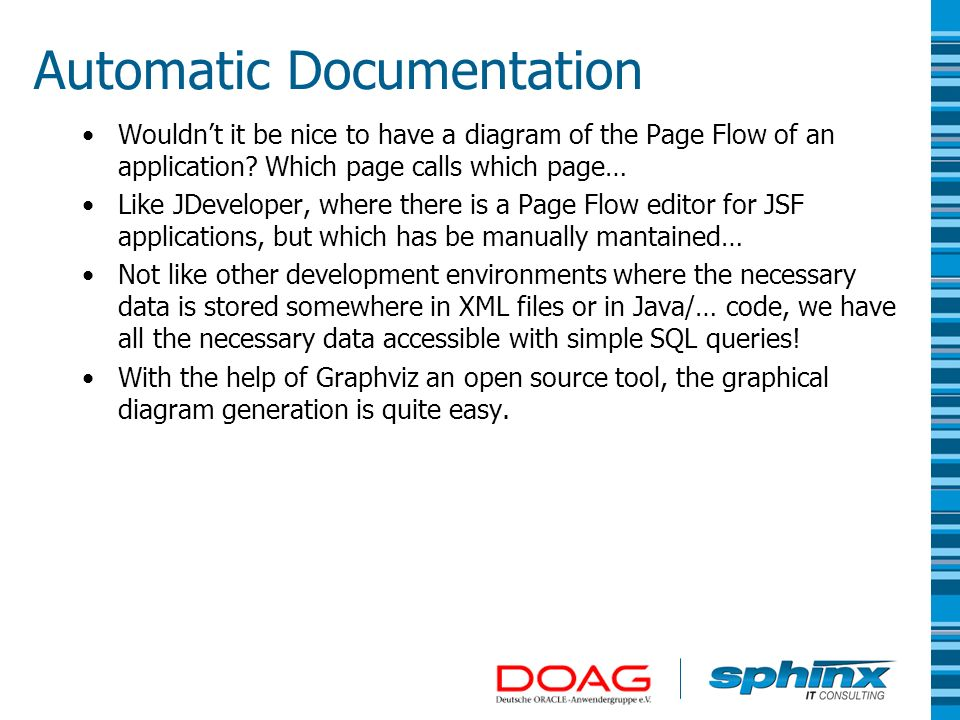 Automatic Documentation
