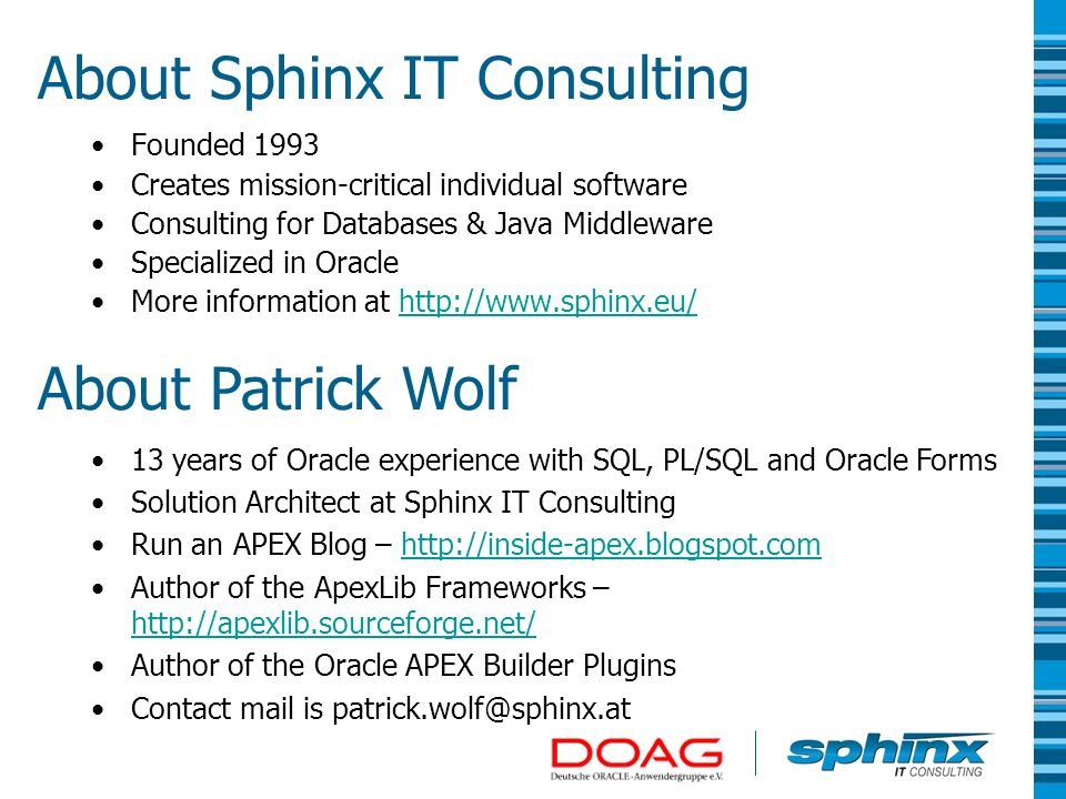 About Sphinx IT Consulting