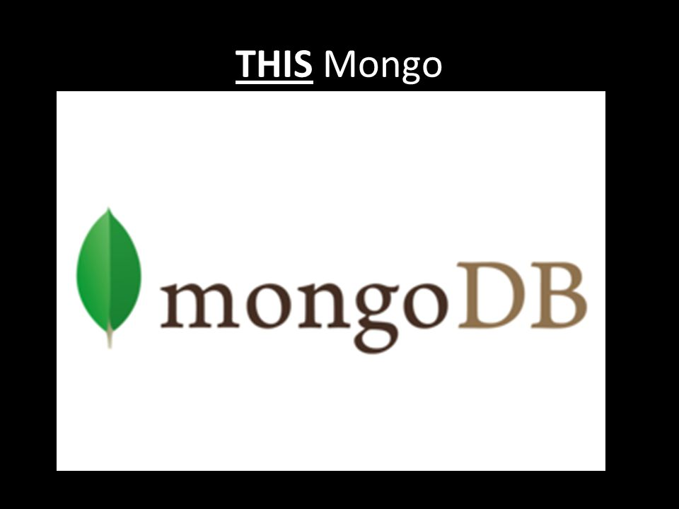 THIS Mongo
