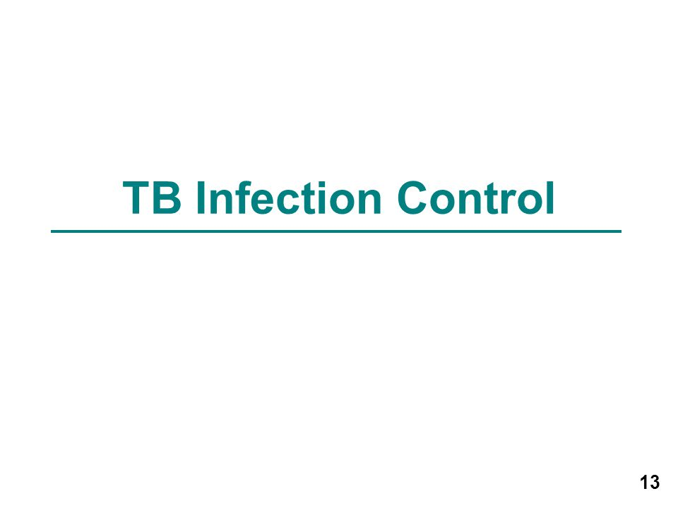 TB Infection Control