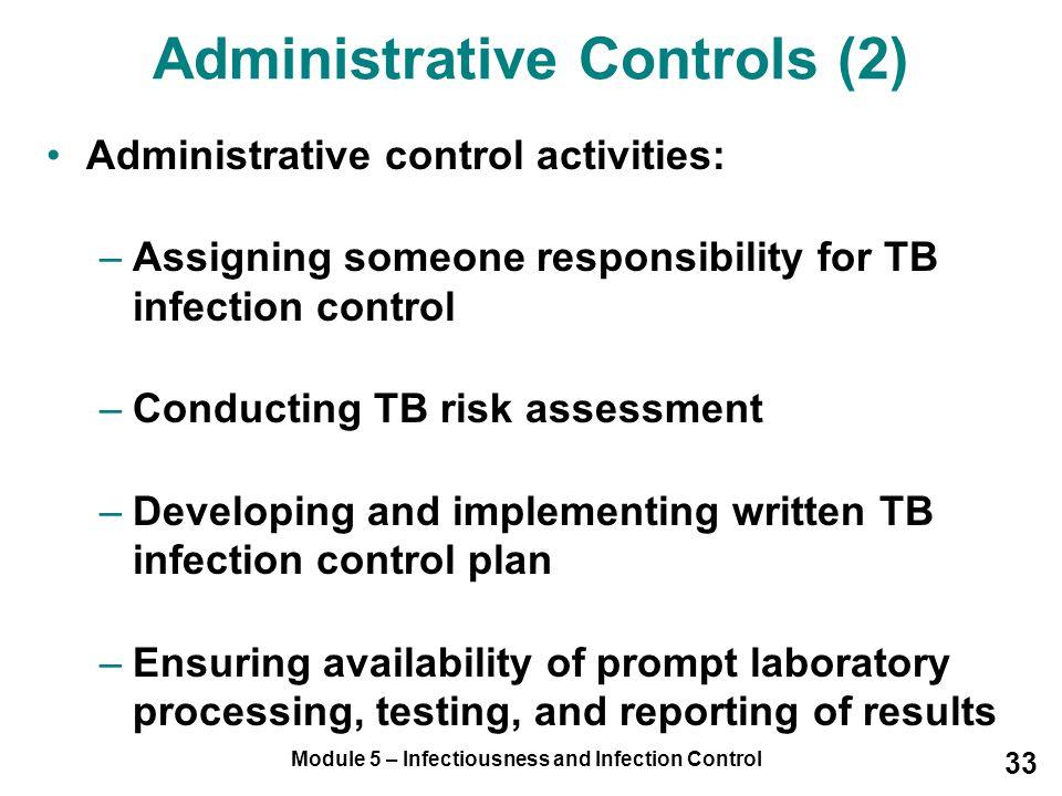 Administrative Controls (2)