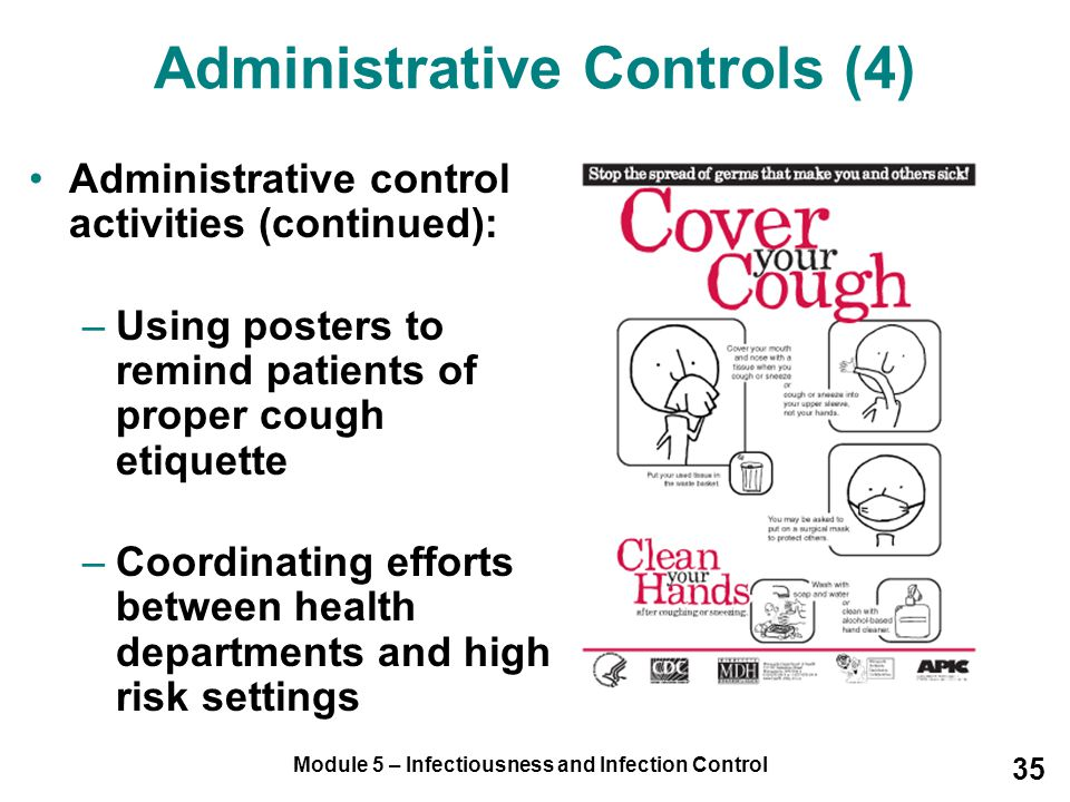 Administrative Controls (4)