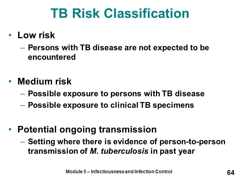 TB Risk Classification