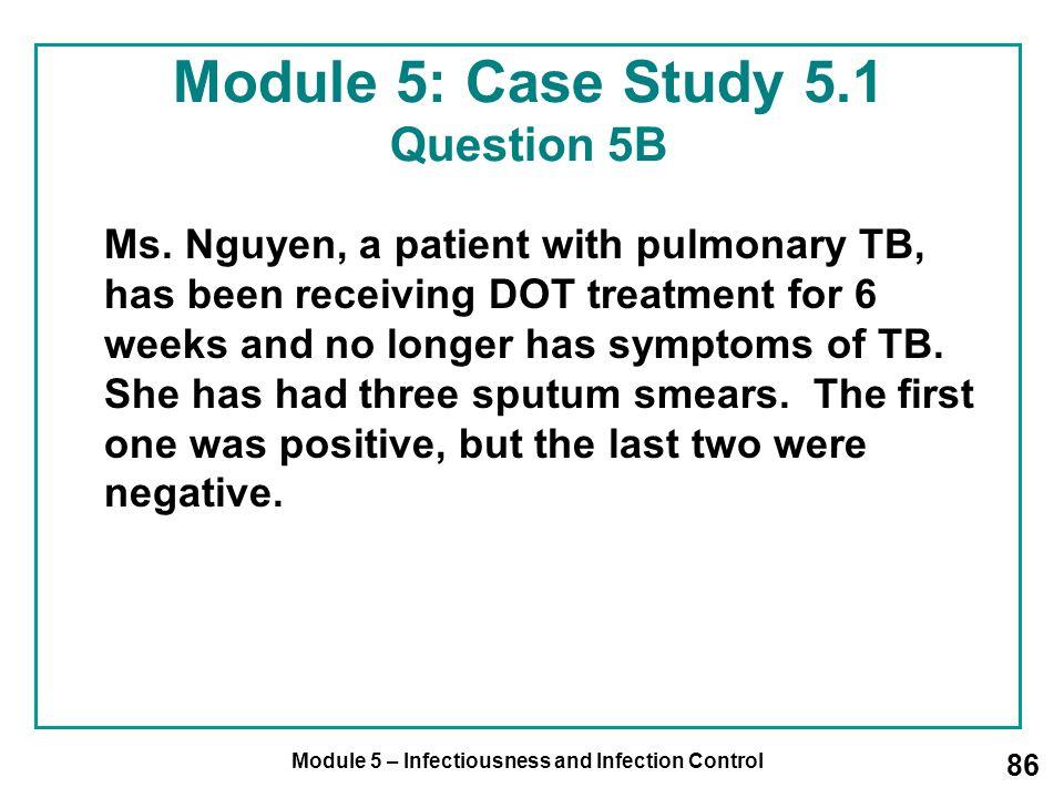 Module 5: Case Study 5.1 Question 5B