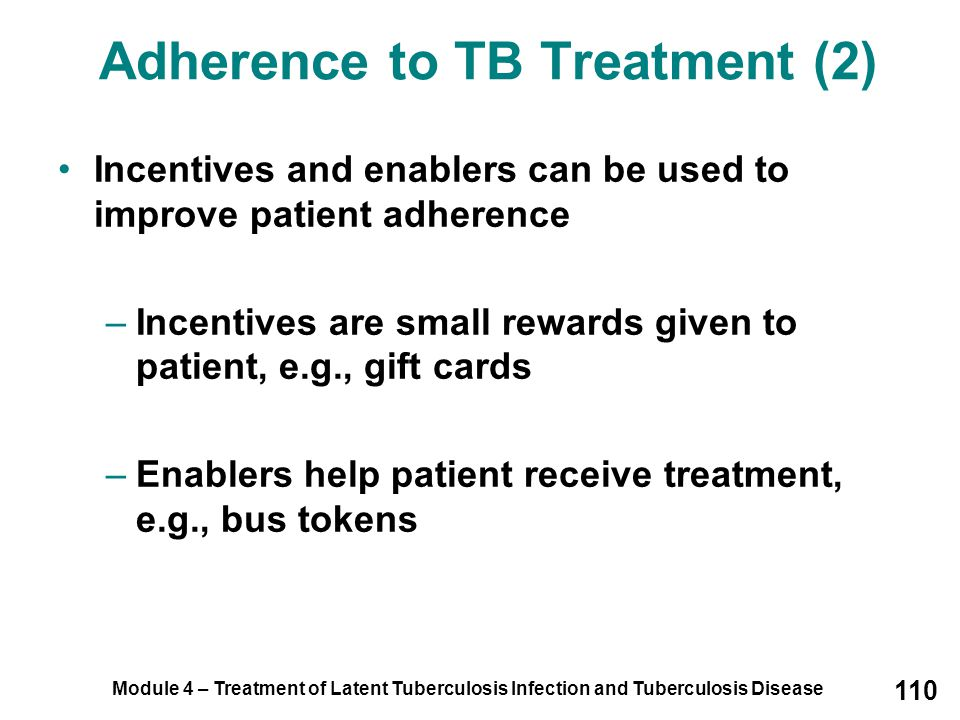 Adherence to TB Treatment (2)