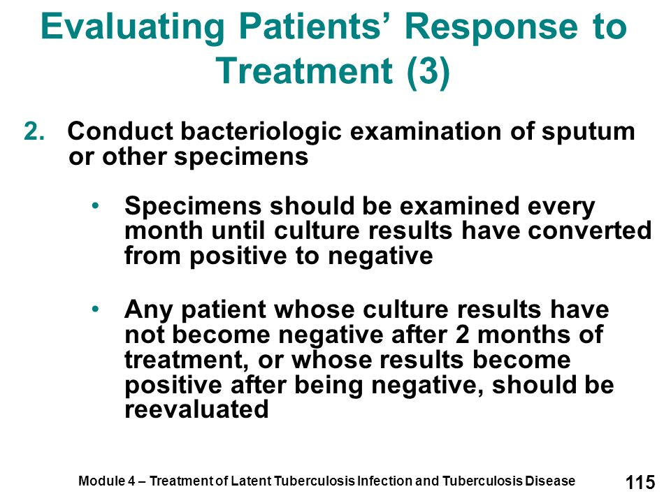 Evaluating Patients' Response to Treatment (3)
