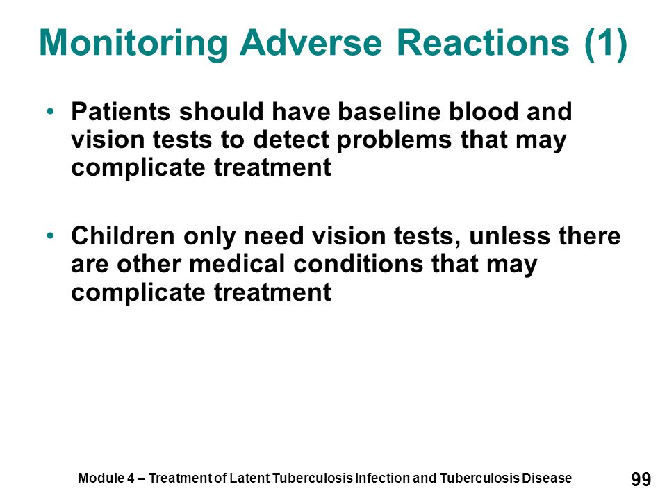 Monitoring Adverse Reactions (1)