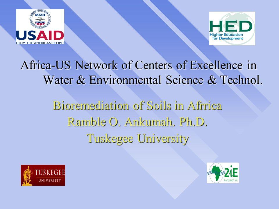 Bioremediation of Soils in Afrrica