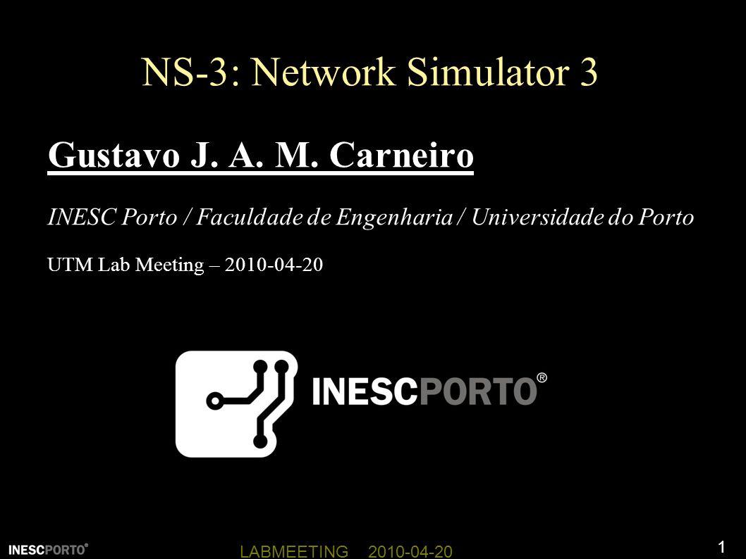 NS-3: Network Simulator 3