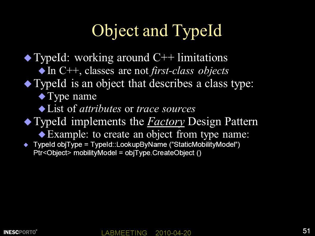 Object and TypeId TypeId: working around C++ limitations