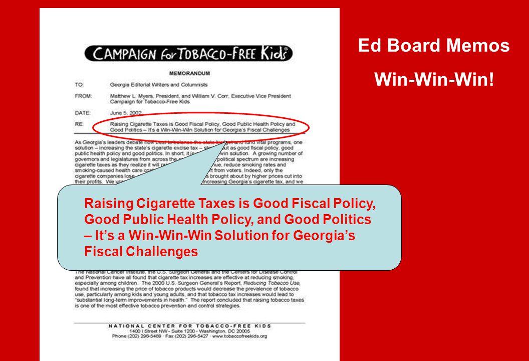 Ed Board Memos Win-Win-Win!