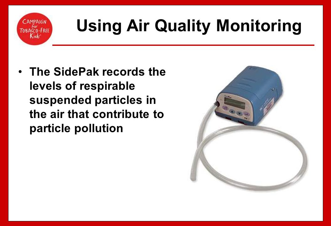 Using Air Quality Monitoring