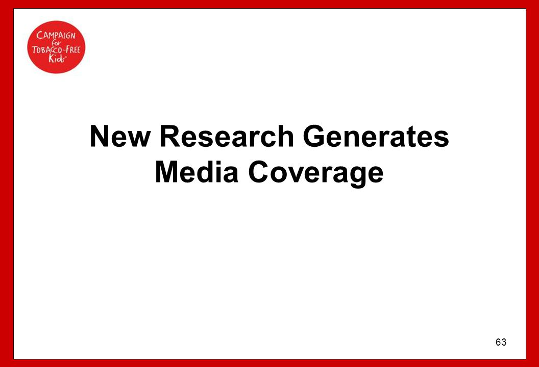 New Research Generates Media Coverage