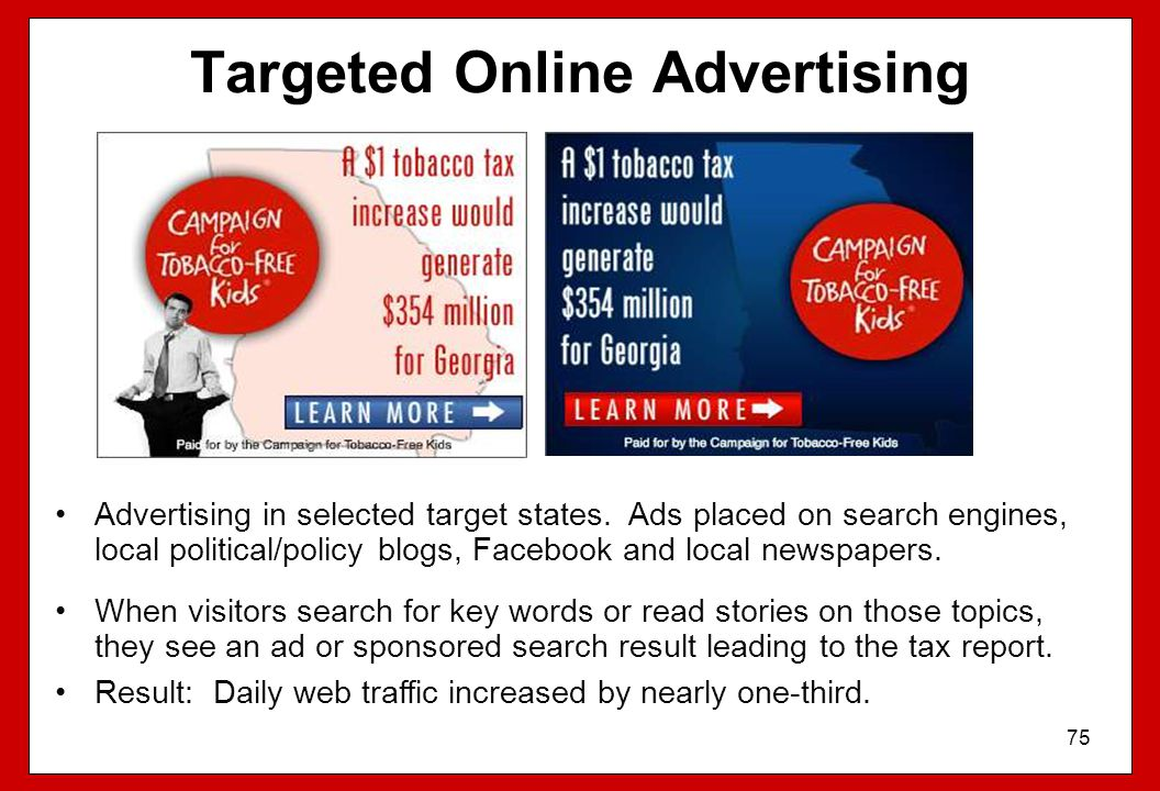 Targeted Online Advertising